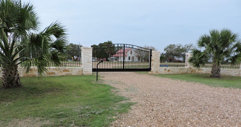 Serenity Ranch Kennels - Front Gate